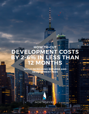 how to cut real estate development costs